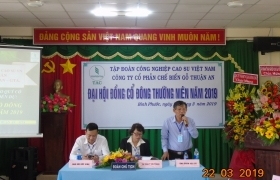 Gỗ Thuận An chia cổ tức 11,5 %