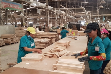 Hỗ trợ hàng chục nghìn lao động ngành gỗ bị mất việc vì COVID-19