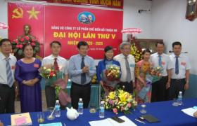 Bà Lê Thị Xuyến giữ chức Bí thư Đảng ủy Gỗ Thuận An