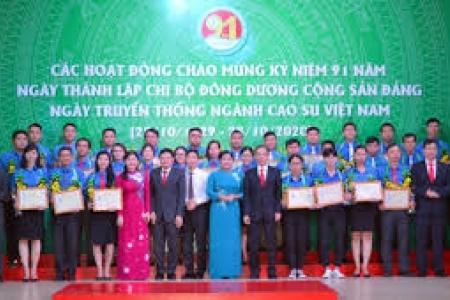 91 năm vẻ vang của ngành cao su Việt Nam